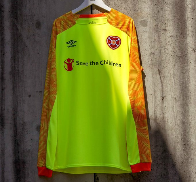 New Hearts Goalkeeper Kit 2018-19