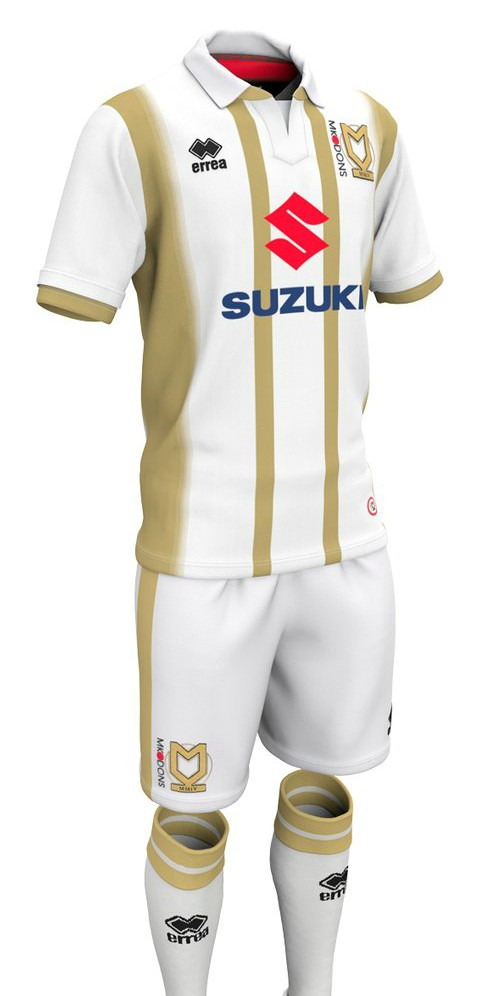 New MK Dons Home Kit 2018-19