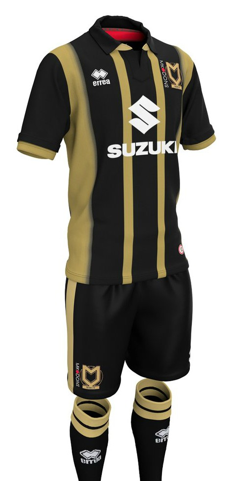 New MK Dons Third Jersey 18-19