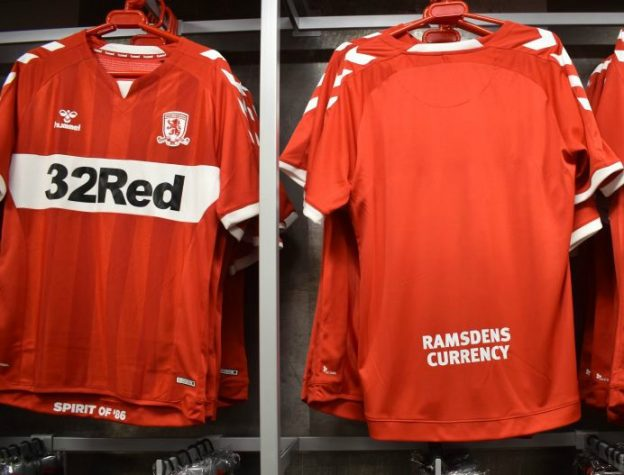 New Middlesbrough Top 2018-19