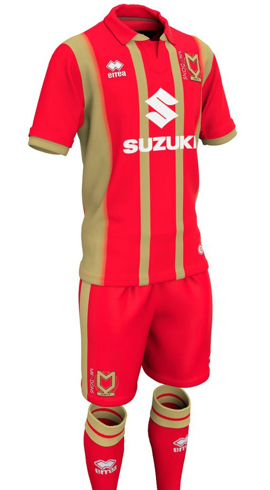 New Milton Keynes Dons Away Shirt 2018-2019
