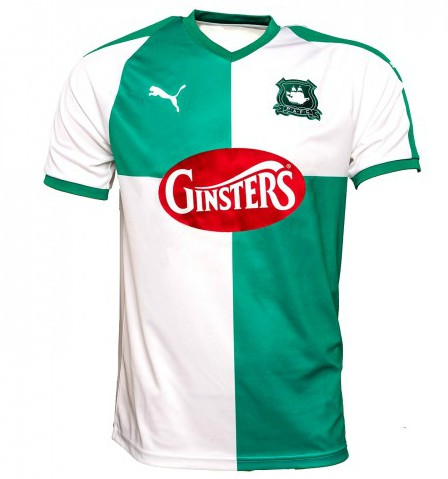 New Plymouth Argyle Away Kit 18-19