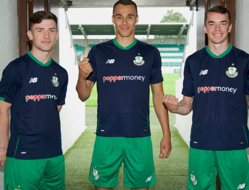 New Shamrock Rovers Away Jersey 2018