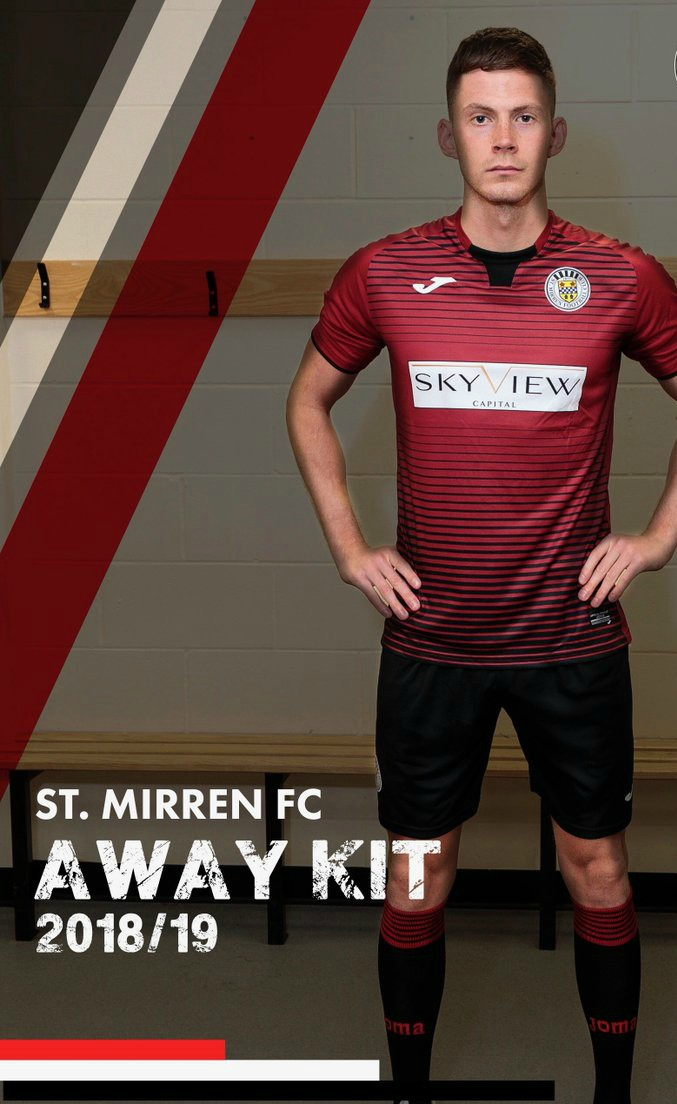 New St.Mirren Away Top 18-19