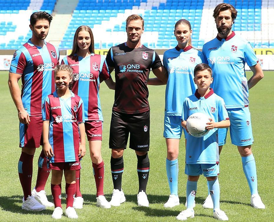New Trabzonspor Macron Jersey 2018 2019