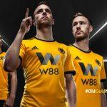 New Wolves Adidas Kits 2018-2019 | WWFC Home & Away Premier League Shirts 18-19