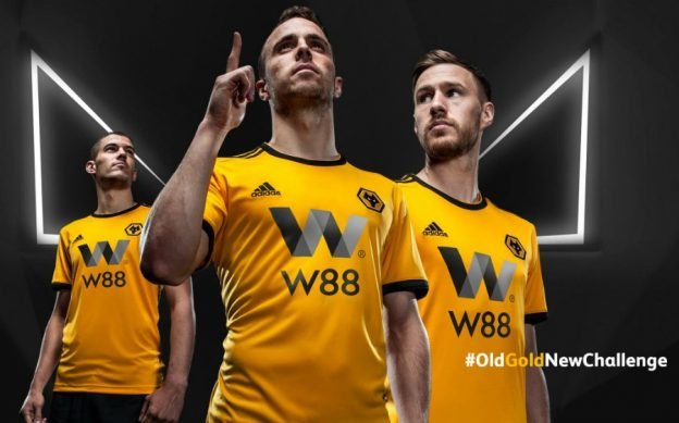 New Wolves Premier League Jersey 2018-19