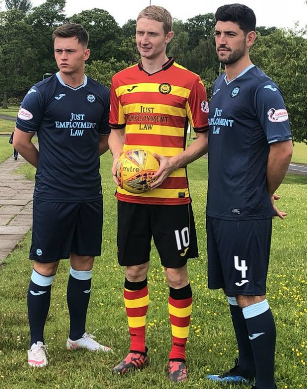 Partick Thistle New Top 2018-19