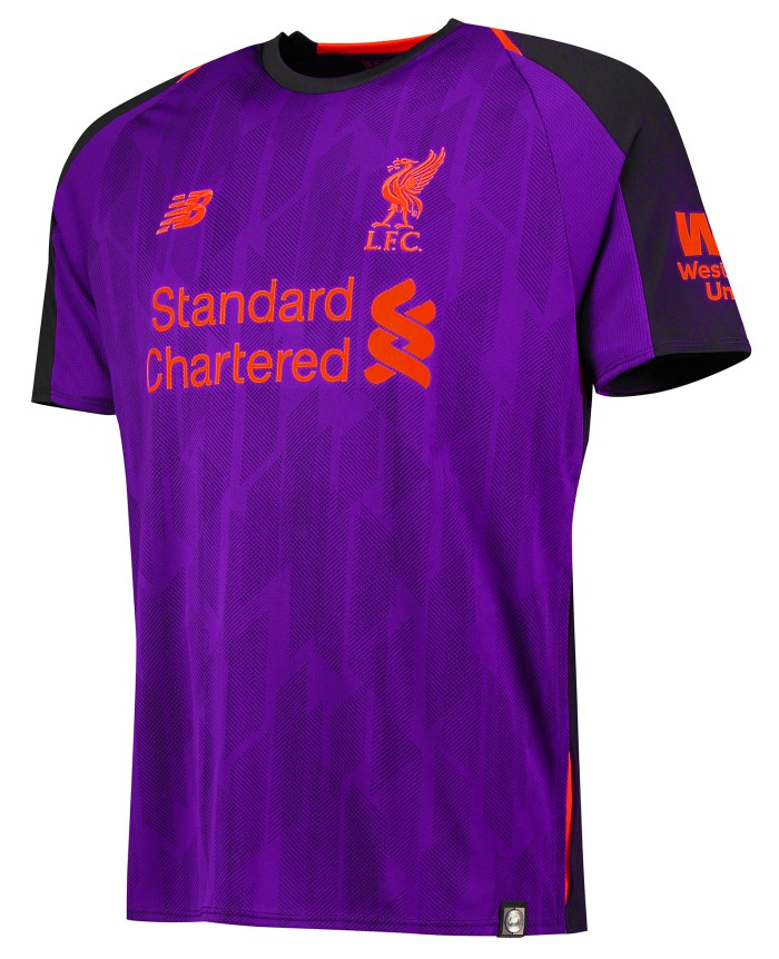 Purple Liverpool Away Top 2018-19