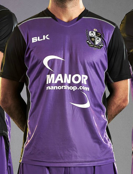 e409ff88d6f New PVFC Away Kit 2018-2019 | Purple Port Vale Alternate Shirt by BLK