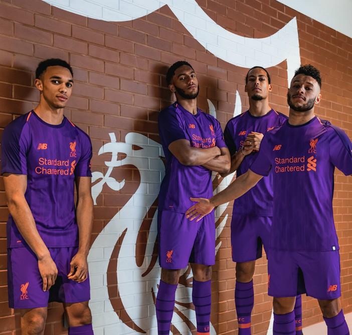 Violet Liverpool Jersey 2018-2019
