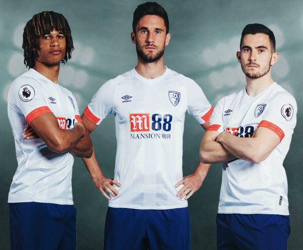 White Bournemouth Away Shirt 2018-19
