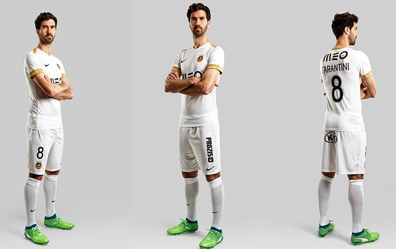 White Rio Ave Third Shirt 2018-2019