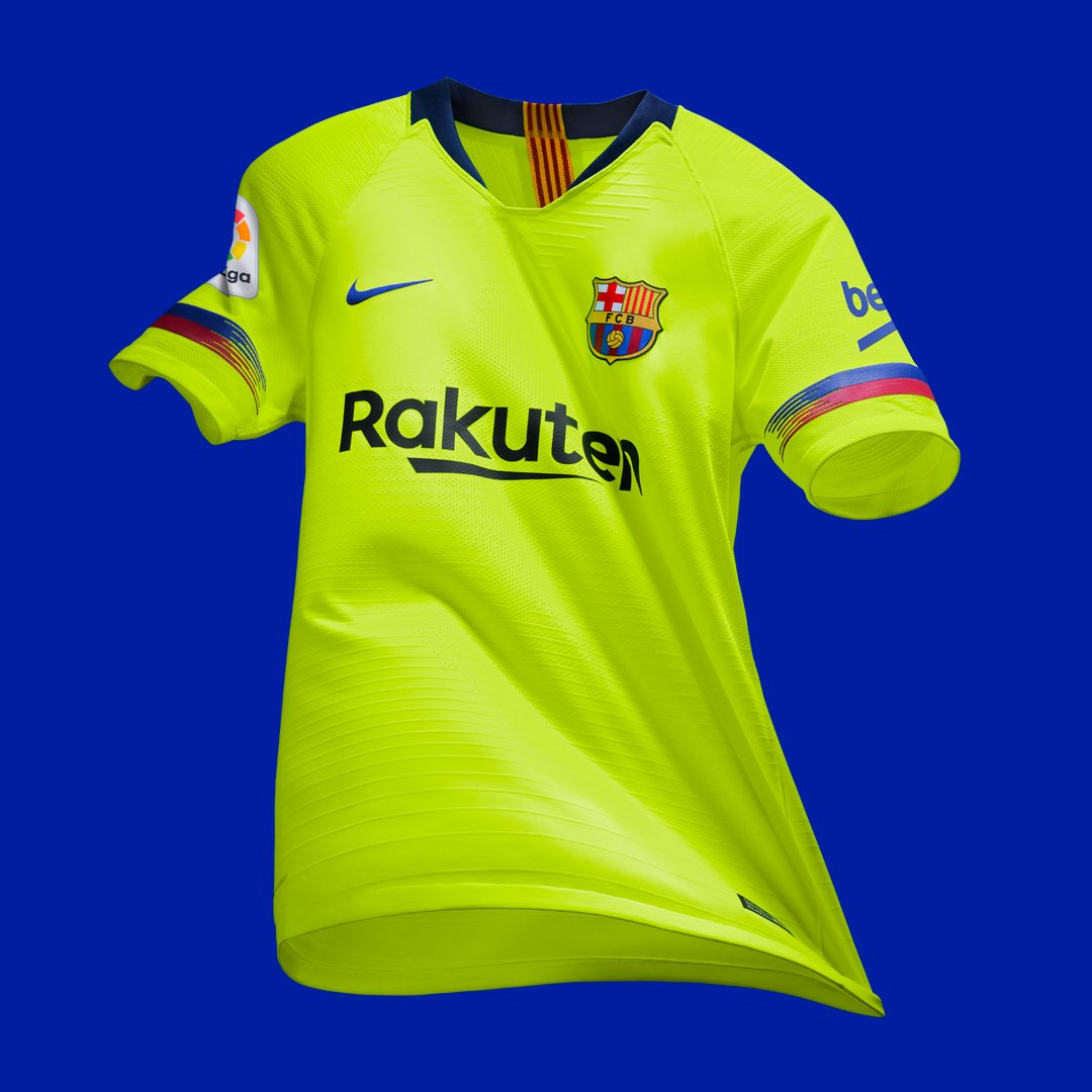 Barca Secondary Jersey 2018 2019