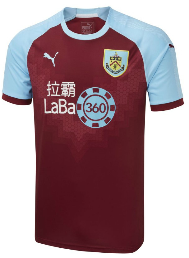 New Burnley Shirt 2018-2019