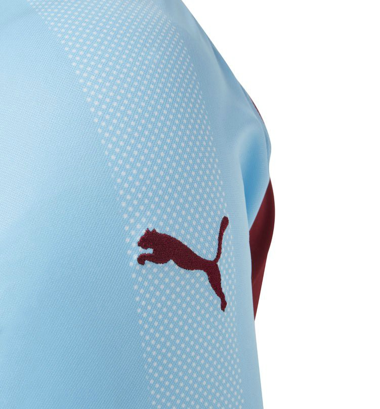 Sleeve Detail Burnley Shirt 18-19