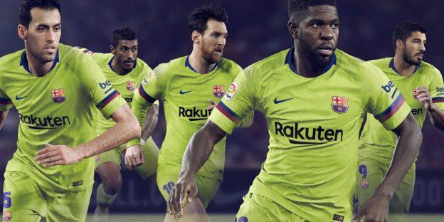 Volt Barcelona Jersey 2018 2019