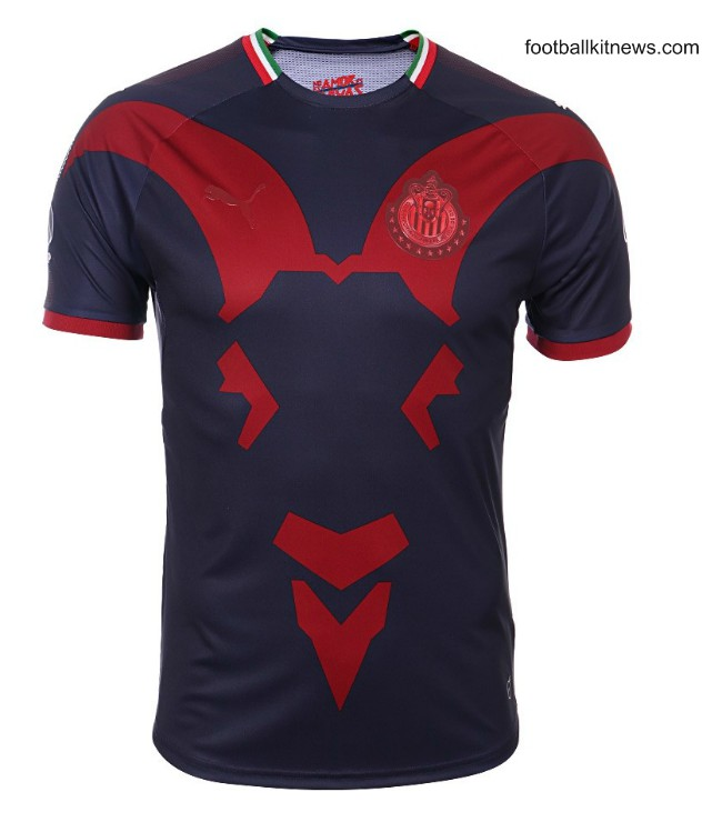 New Chivas Guadalajara Third Shirt 2019 Blue Clausura