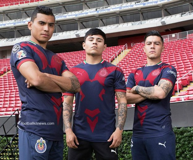half off 63259 9405e New Chivas Third Jersey Clausura 2019- Puma CD Guadalajara ...