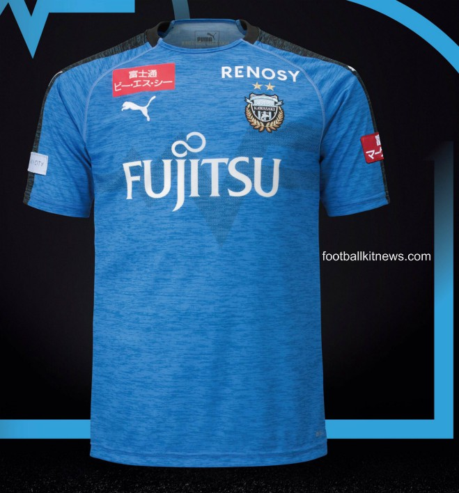 New Kawasaki Frontale Shirt 2019