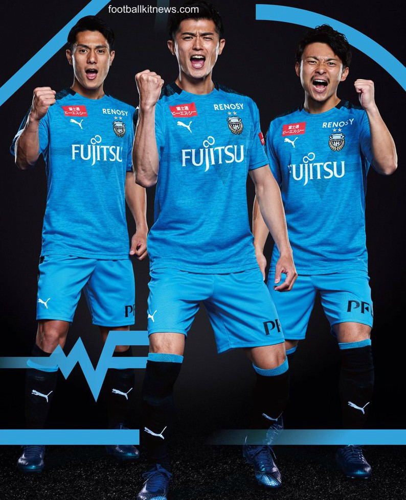 J League Football Shirts: New Kawasaki Frontale Jersey 2019