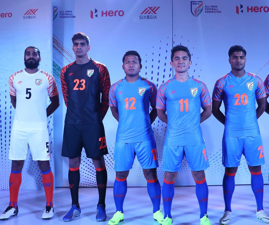 New Six 5 Six India Football Jersey 2019