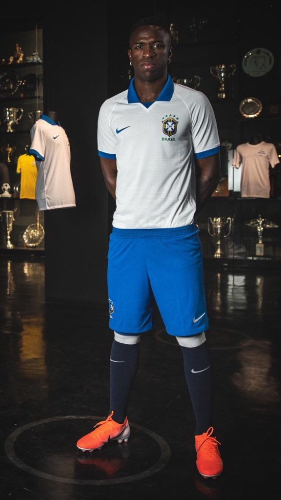 New Brazil Away Jersey White 2019