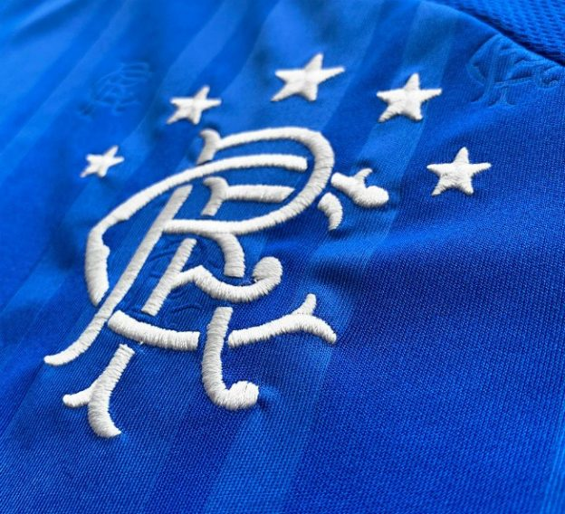 New Rangers Home Shirt 19-20 Closeup
