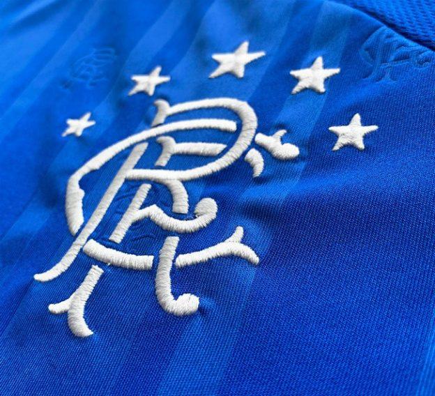 New Rangers Home Shirt 19-20 Closeup