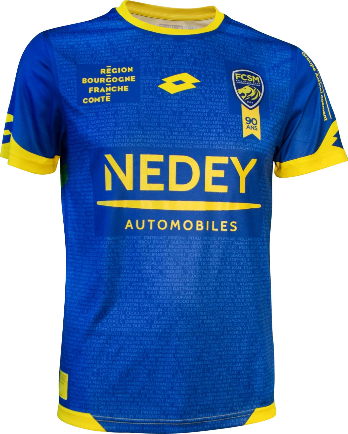 New Sochaux 90th Anniversary Jersey 2019 Lotto