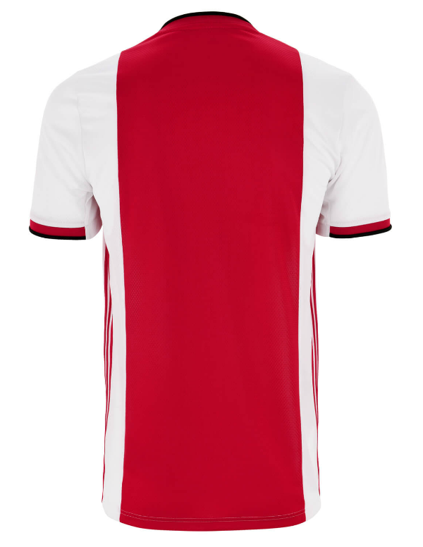 Back of Ajax Home Shirt 2019-20
