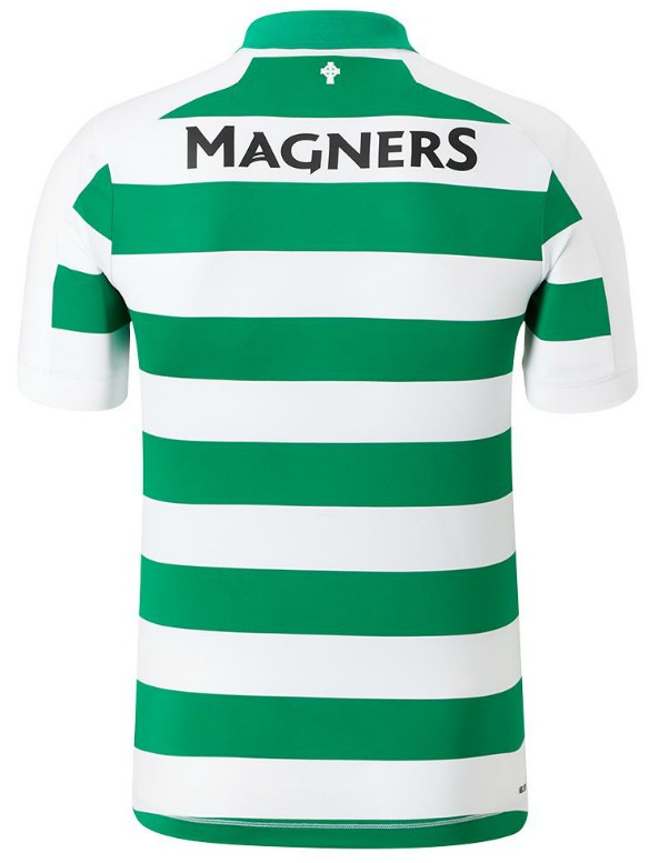 Back of Celtic Home Kit 19-20