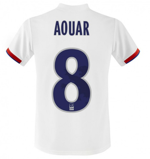 Back of Lyon Shirt 19-20