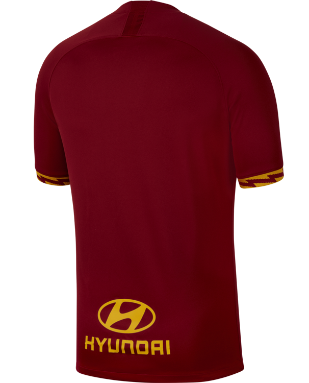 Back of Roma 19-20 Shirt