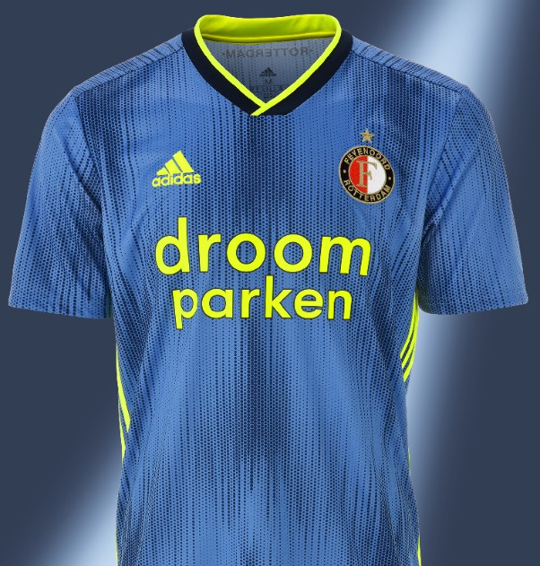 Blue Feyenoord Shirt 2019-2020