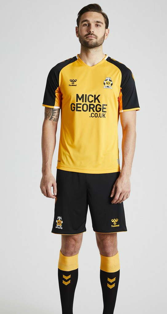 Cambridge United Hummel Kit 2019-20