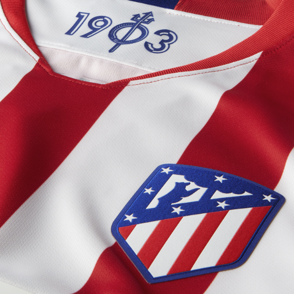 Closeup of Atleti Jersey 19-20
