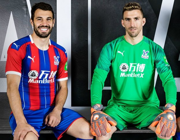 0df73dd04 New Crystal Palace Jersey 2019-20 | CPFC debut new kit in 5-3 win over  Bournemouth
