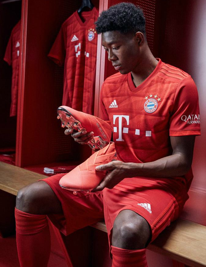 David Alaba Bayern Kit 2019-2020