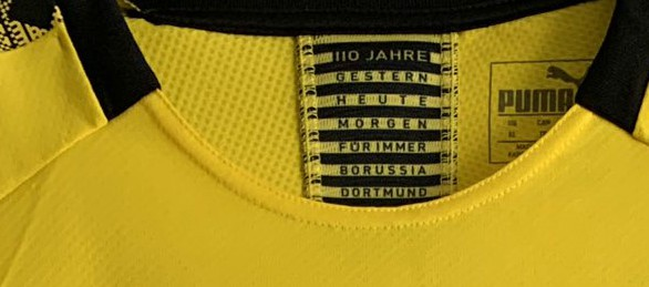 Dortmund 110th Anniversary Shirt 2019
