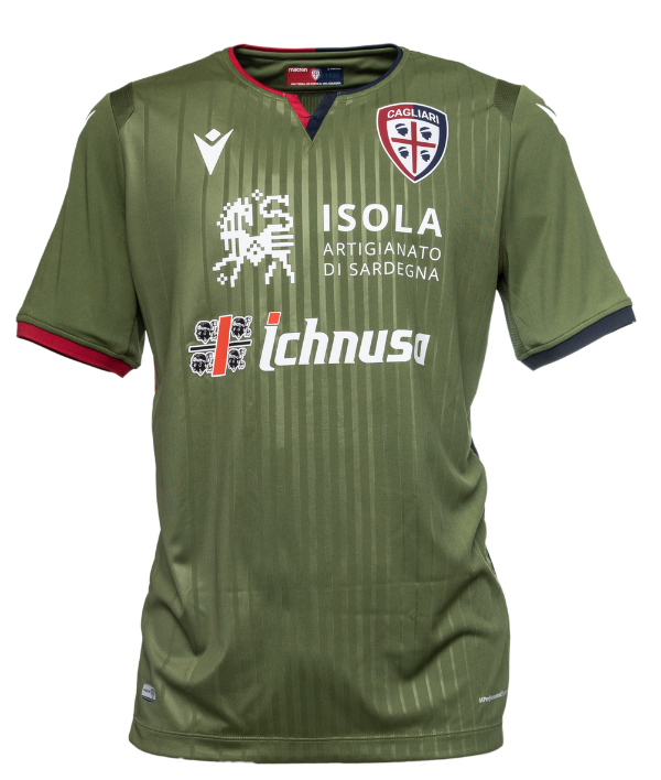 Green Cagliari Third Shirt 19-20