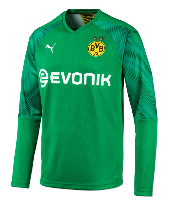 Green Dortmund Goalkeeper Jersey 2019-2020