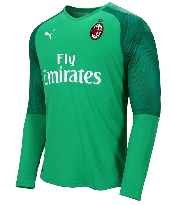Green Milan Goalkeeper Shirt 2019-20