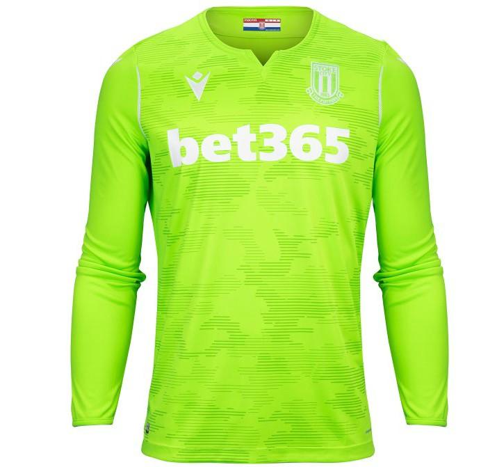 Green Stoke Goalkeeper Shirt 2019-20