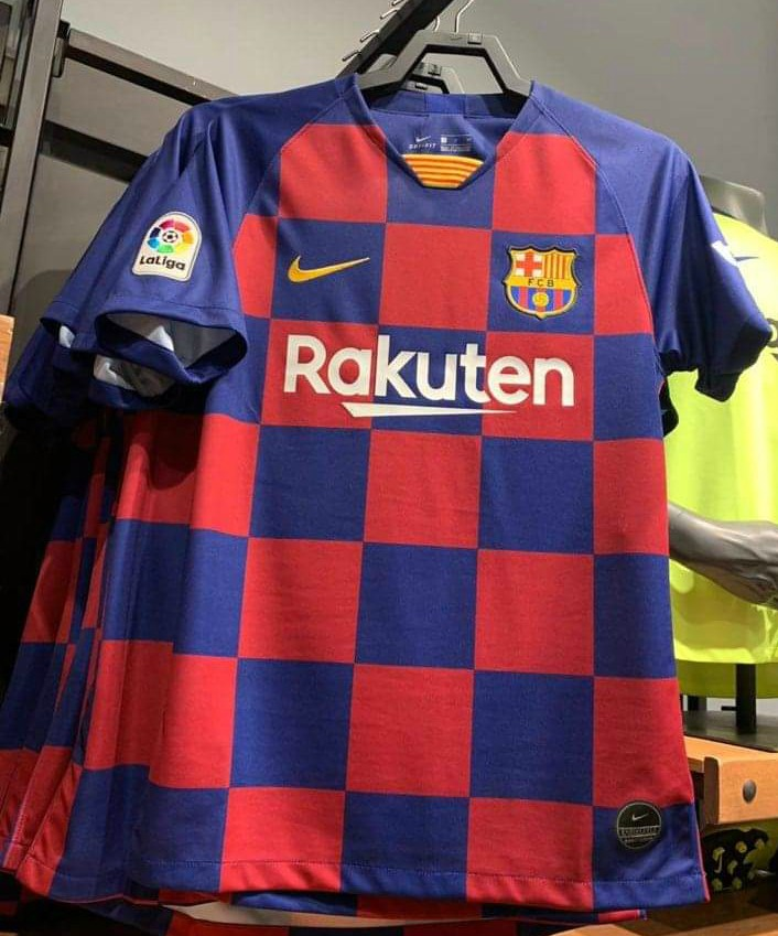 Leaked Barca Jersey 2019-2020