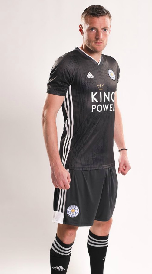 Leicester Away Shorts Grey 19-20
