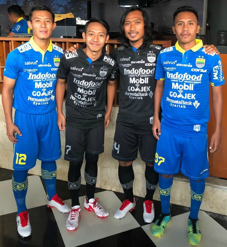 Most Sponsors on Football Shirt 2019 Persib Bandung