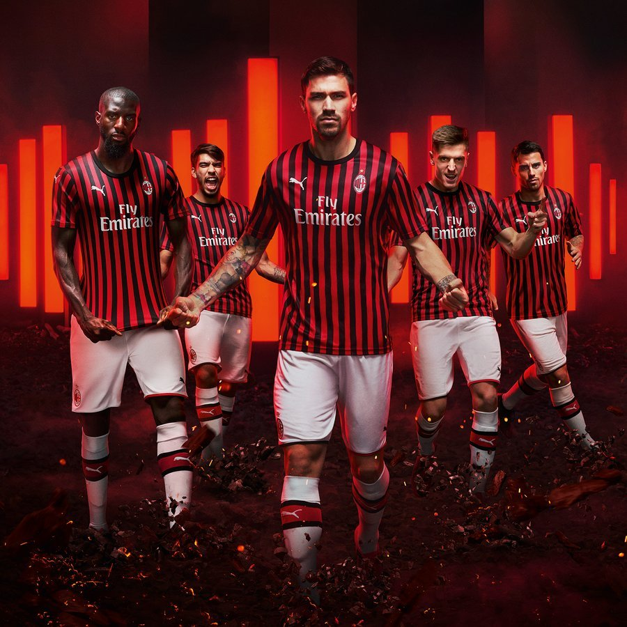 New AC Milan Kit 19-20