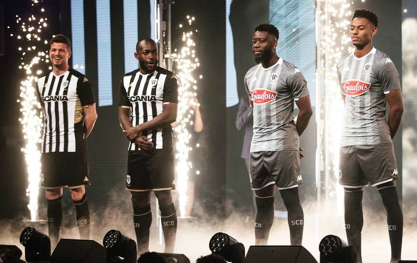 d6cdeb5a767 New Angers SCO Jersey 2019-2020