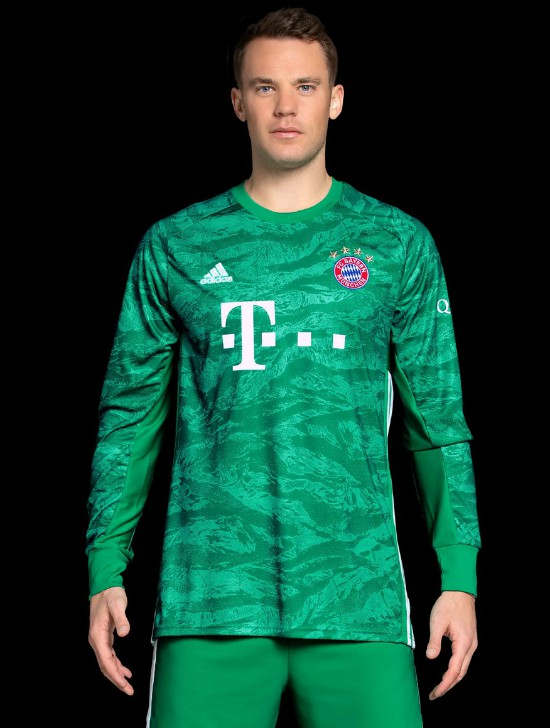 New Bayern Goalkeeper Kit 2019-2020